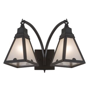 Loon Peak Borwicks 2-Light Vanity Light
