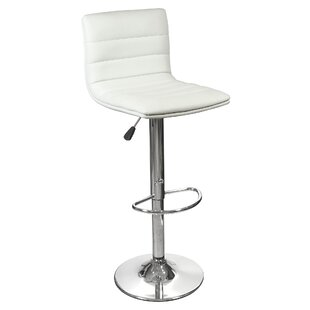 83cm Height Adjustable Swivel Bar Stool By Home Essence