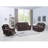 Trower Reclining  3 Piece Living Room Set by Red Barrel Studio®