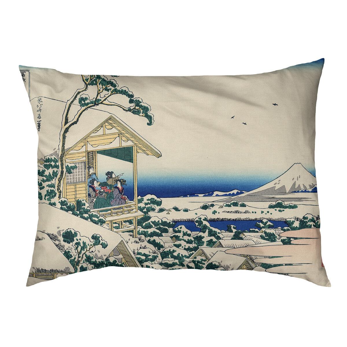 Tucker Murphy Pet Burkart Tea House At Koishikawa Dog Pillow Classic Wayfair