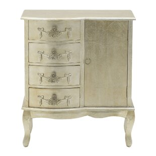 Culbert 4 Drawer Combi Chest By Fleur De Lis Living