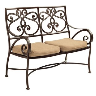Lucerne Cast Loveseat with Cushions