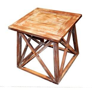 Loon Peak Fearon Wooden End Table