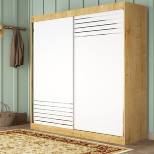 Matheny 2 Door Sliding Wardrobe By 17 Stories