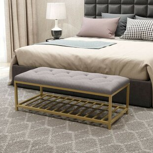 Duda Upholstered Storage Bench by Mercer41