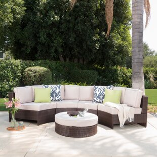 Daniela 5 Piece Sectional Set with Cushions