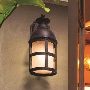 Inexpensive Marli 1-Light Incandescent Outdoor Wall Lantern By 17 Stories