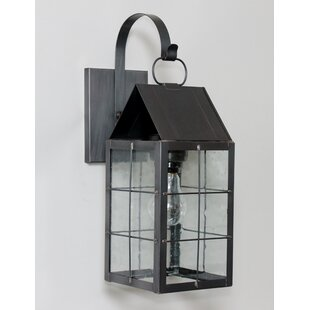 Affordable 300 Series 1-Light Outdoor Wall Lantern By Brass Traditions