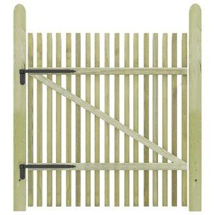 Wilburton Garden 3' X 4' (1m X 1.25m) Wood Gate By Sol 72 Outdoor