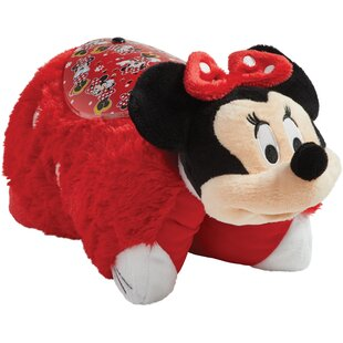 Best Reviews Sleeptime Lite Disney Rockin The Dots Minnie Mouse Plush Night Light By Pillow Pets