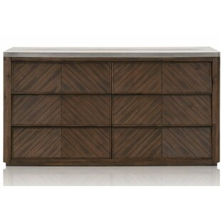 Rossmoor 6 Drawer Double Dresser