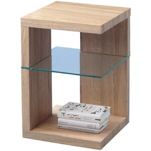 Domingo Side Table with Storage