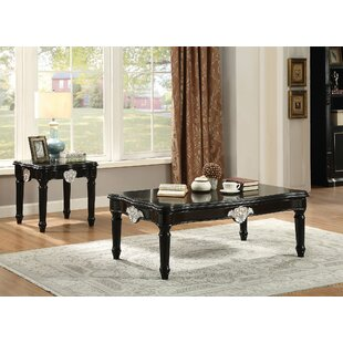 Rylance 2 Piece Rectangle Coffee Table Set