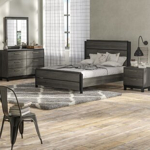Gracie Oaks Mandy Platform 4 Piece Bedroom Set