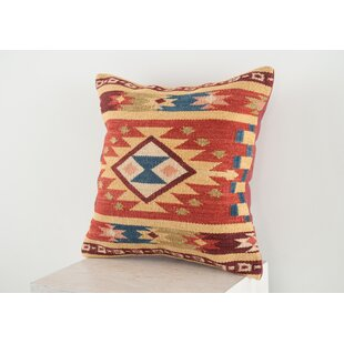 Lodge Wool Throw Pillow