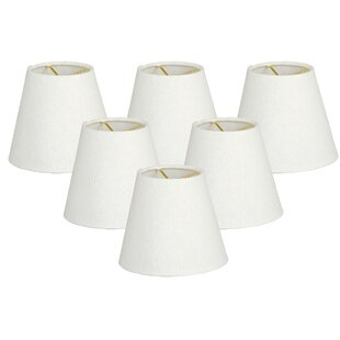 Look for 6 Linen Empire Lamp Shade (Set of 6) By Alcott Hill