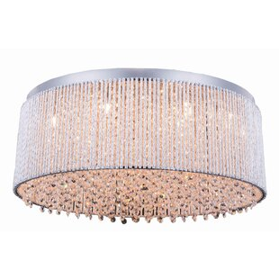 House of Hampton Larrison 14-Light Flush Mount