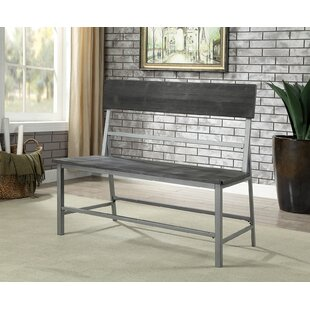 Wrenly Metal Bench by Gracie Oaks