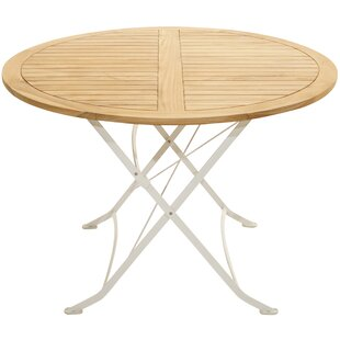 Hillvale Folding Teak Dining Table By Sol 72 Outdoor