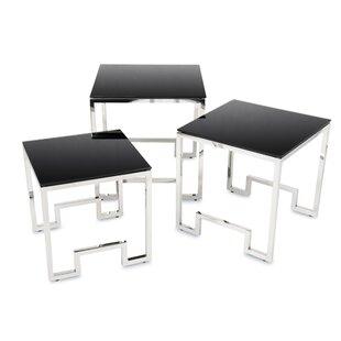 Exley 3 Piece Nest Of Tables By Fairmont Park