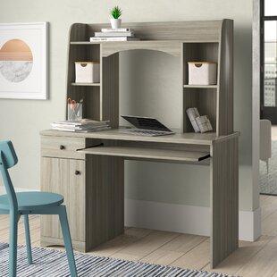 Eden Computer Desk with Hutch