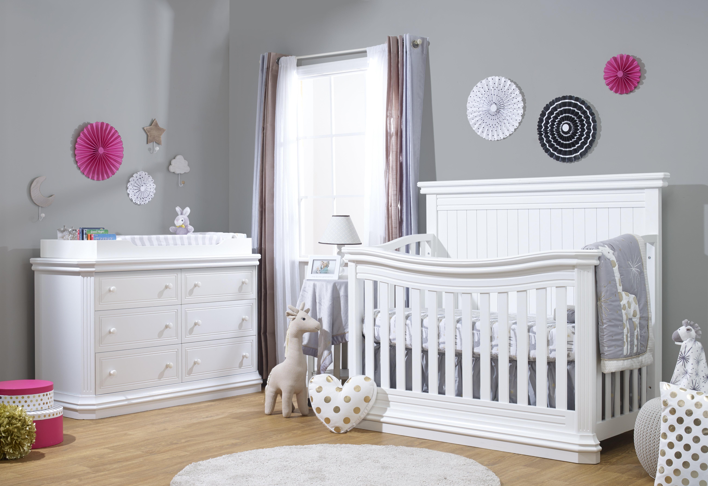 Sorelle Primo Convertible Standard 2 Piece Nursery Furniture Set