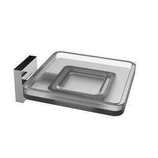 Eviva Glass Wall Mount Soap Dish