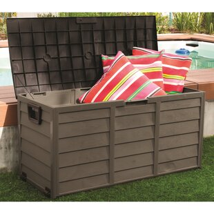 Starplast 60 Gallon Plastic Deck Box