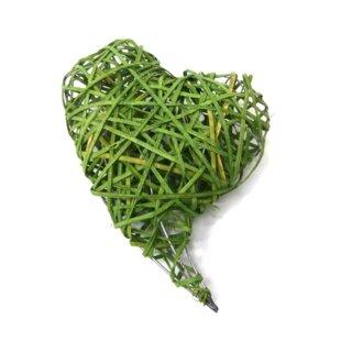 Heart Bamboo Vine Wreath Image