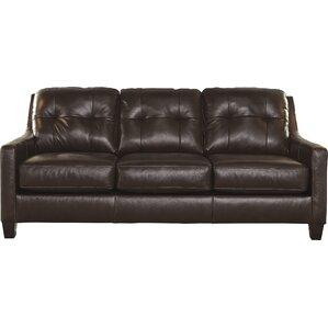 Leather Sleepers Youll Love Wayfair - Leather sofa sleeper queen