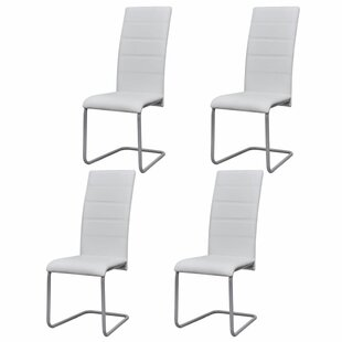 Adamsville Upholstered Dining Chair (Set of 4) Orren Ellis