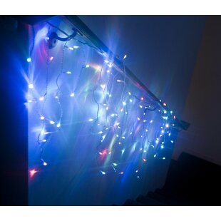 ALEKO Electric Icicle Extendable 150 Light Icicle lights (Set of 2)