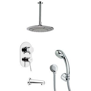Remer by Nameek's Tyga Pressure Balance Tub and Shower Faucet