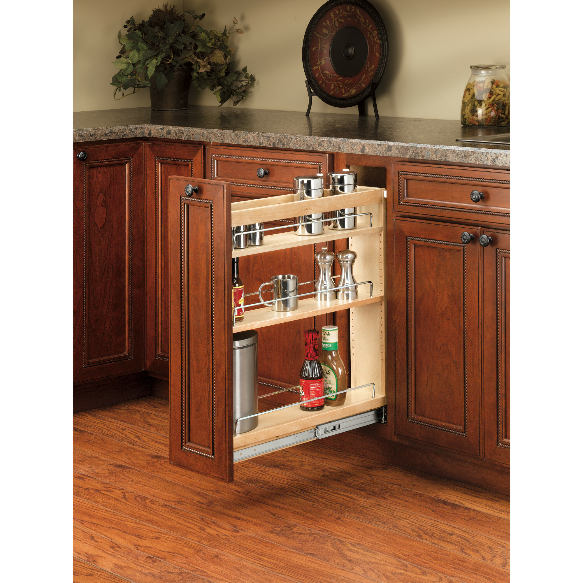 Base Cabinet 3 Shelf Pull Out Pantry