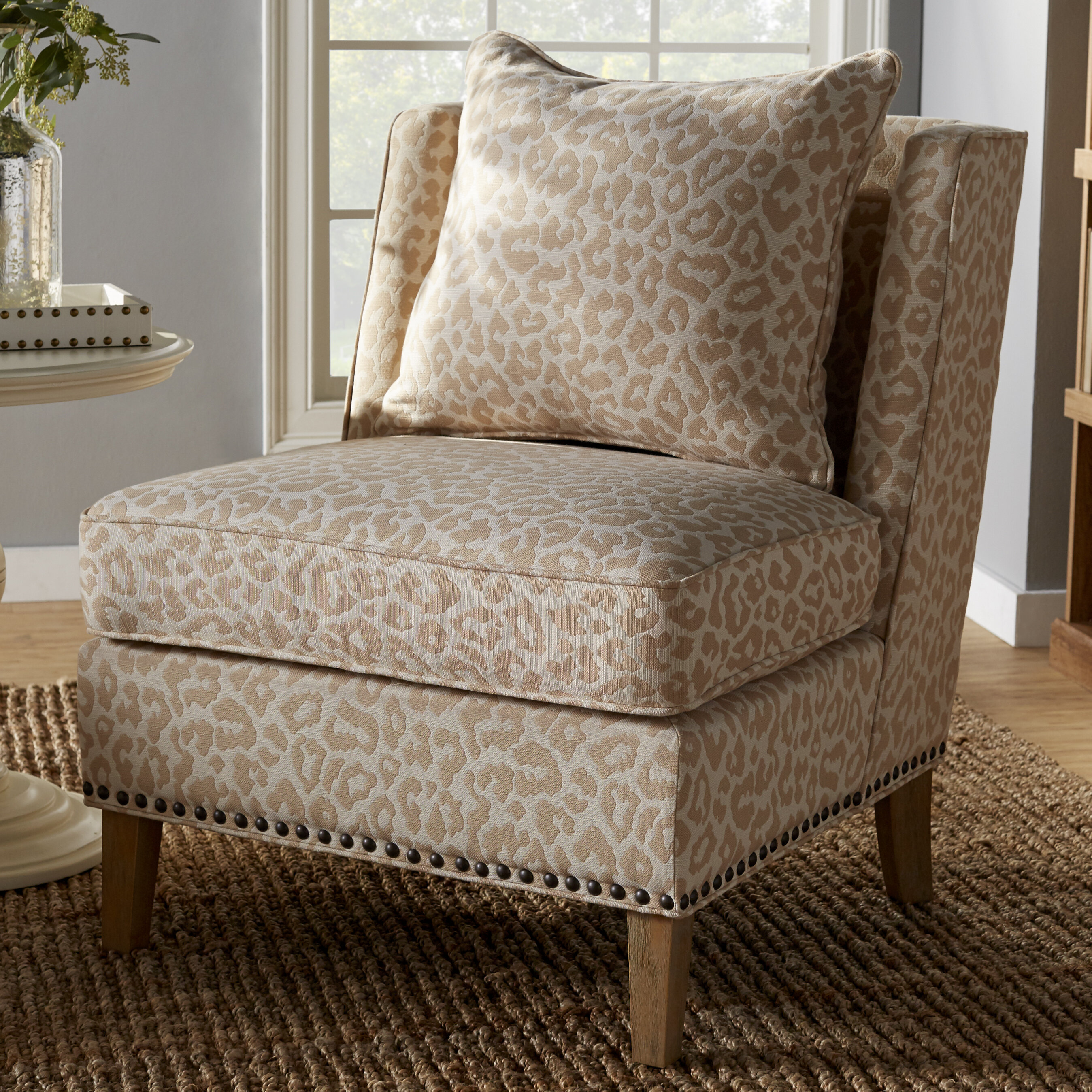 Mistana Kayleigh Slipper Chair Reviews Wayfair