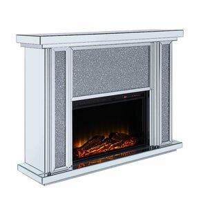 Wasser Electric Fireplace By Rosdorf Park