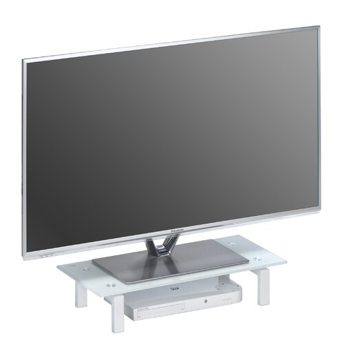 TV-Aufsatz ClearAmbient Farbe: Weiß | Wohnzimmer > TV-HiFi-Möbel > TV-Halterungen | ClearAmbient