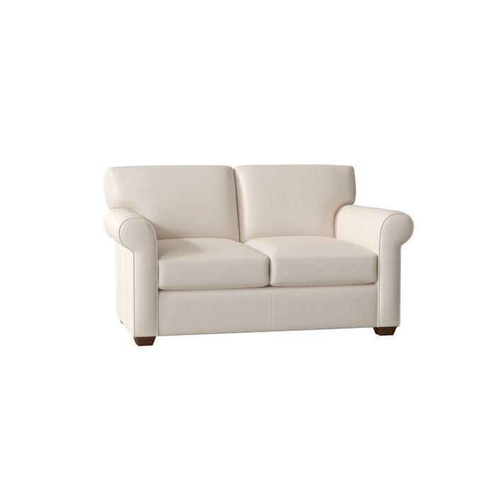 outlet store 52cd9 8fb19 Rachel Leather Loveseat