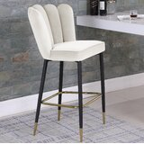 Sonette 30.5 Bar Stool (Set of 2) by Everly Quinn