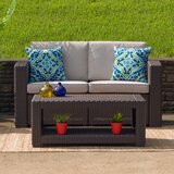 Clifford Patio Sofa with Cushion by Breakwater Bay