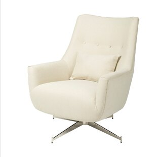 Oceanview Swivel Club Chair by Orren Ellis