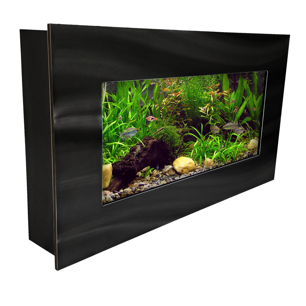 Nano Tank Nano Tank Tv Stand Planted At 1 Month Aquariums 1858 Best