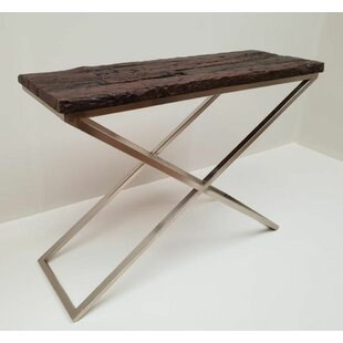 Railway Wood Console Table By EUWildeJava