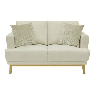 Tehama Upholstered Loveseat by Mercer41 Reviews