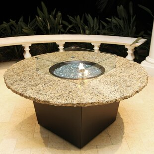 Alfresco Naples Aluminum Natural Gas Fire Pit Table