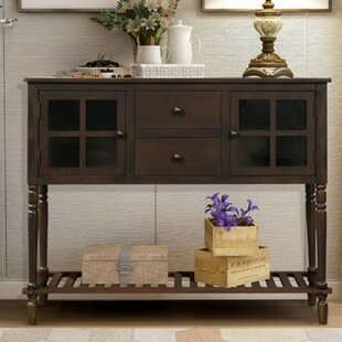 Yukiko 14 Console Table and Stool Set by August Grove