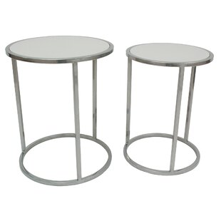 Allan Copley Designs Chase Collection 2 Piece Nesting Tables