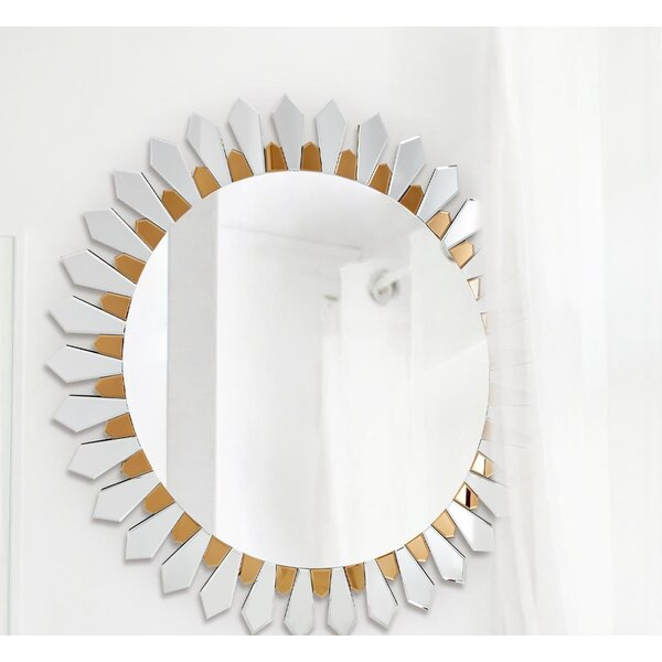 Flower Petal Mirror Wayfair
