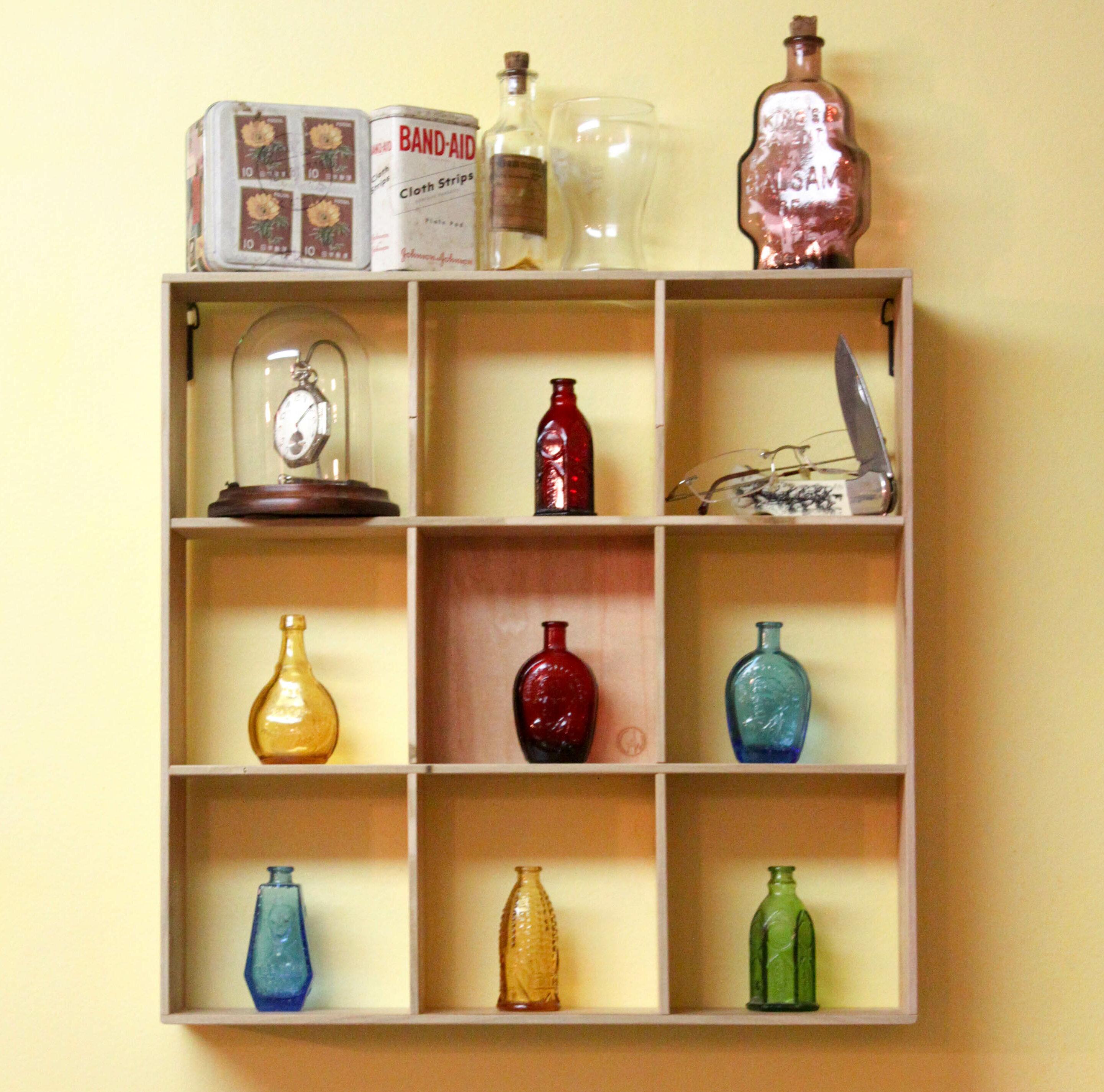 Hogu Shadow Box 1 Panel Wall Shelf