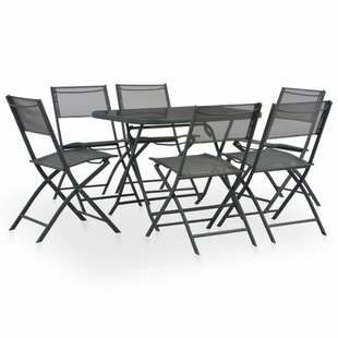 Bargas 6 Seater Dining Set By Sol 72 Outdoor